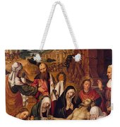 Mourning Over The Dead Body Of Christ Weekender Tote Bag
