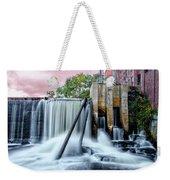 Mousam River Waterfall In Kennebunk Maine Weekender Tote Bag