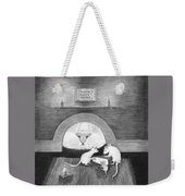 Mouse Hole Weekender Tote Bag