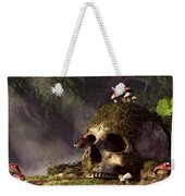 Mouse In A Skull Weekender Tote Bag