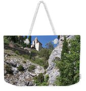 Moustier St. Marie Church Weekender Tote Bag