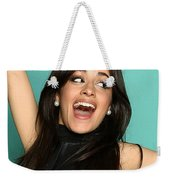 Mouth Open Weekender Tote Bag