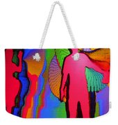 Human Movement In Color Weekender Tote Bag