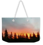 Movement Of The Sky And Forest Trees Weekender Tote Bag