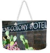 Movie Colony Hotel Palm Springs Weekender Tote Bag