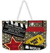 Movie Night-jp3613 Weekender Tote Bag