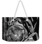 Movie Projector Light In Black And White Weekender Tote Bag