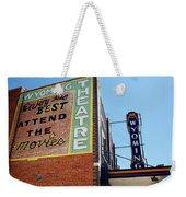 Movie Sign 1 Weekender Tote Bag