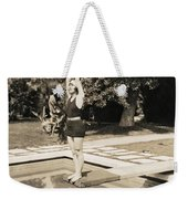 Movie Star About To Dive Weekender Tote Bag