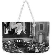 Movie Theater, 1920s Weekender Tote Bag