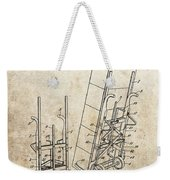 Moving Dolly Patent Weekender Tote Bag