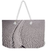 Moving Rocks Number 2  Death Valley Bw Weekender Tote Bag