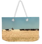 Moving The Herd Weekender Tote Bag