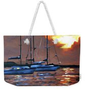Moving Toward The Light Weekender Tote Bag