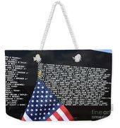 Moving Wall - Vietnam Memorial Weekender Tote Bag