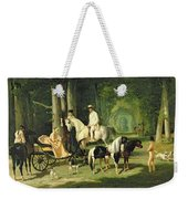 Mr And Mrs A Mosselman And Their Two Daughters Weekender Tote Bag