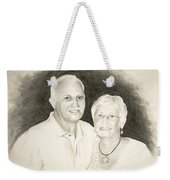 Mr And Mrs B Weekender Tote Bag