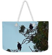 Mr. And Mrs. Bald Weekender Tote Bag