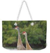 Mr And Mrs Crane Weekender Tote Bag