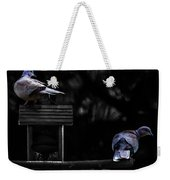 Mr. And Mrs. Dove Weekender Tote Bag