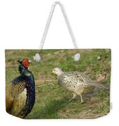 Mr And Mrs Pheasant Weekender Tote Bag