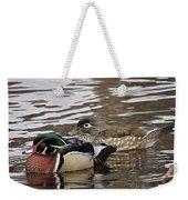 Mr. And Mrs. Wood Duck Weekender Tote Bag