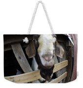 Mr B Goat Weekender Tote Bag