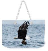 Mr. Bald Eagles Catch Weekender Tote Bag