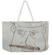 Mr Bloom - Red Weekender Tote Bag