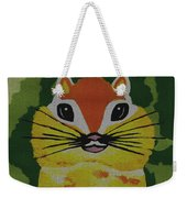 Mr Chipmunk Weekender Tote Bag