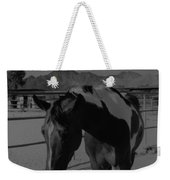 Mr Ed In Black And White Weekender Tote Bag