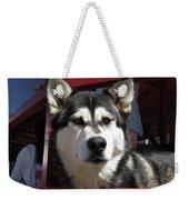 Mr. Husky Weekender Tote Bag