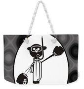 Mr. Jock Weekender Tote Bag by Maria Watt