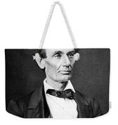 Mr. Lincoln Weekender Tote Bag by War Is Hell Store