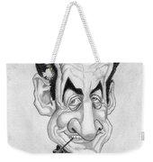 Mr Nicolas Sarkozi Caricatur Portrait Weekender Tote Bag