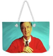 Mr Rogers With Trolley Weekender Tote Bag