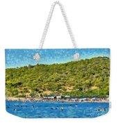 Megalo Kavouri Beach Weekender Tote Bag