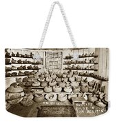 Mrs. Butts Mortar And Pestle Collection Found In San Benito Co. Weekender Tote Bag