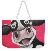 Mrs Cow Weekender Tote Bag
