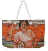 Mrs. Curry And Son Weekender Tote Bag