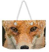 Mrs. Foxy Weekender Tote Bag