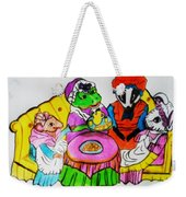 Mrs. Mouse Tea Party Weekender Tote Bag