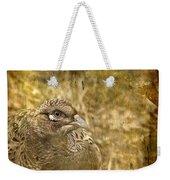 Mrs Pheasant Weekender Tote Bag