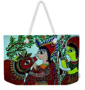 Love And Worship For Cow Weekender Tote Bag