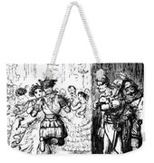 Mrs Sextus Consoles Herself With A Little Party Weekender Tote Bag