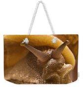 Mrs. Snail Weekender Tote Bag