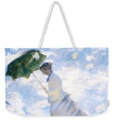 Ms Monet Blown Away  Weekender Tote Bag