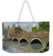 Ms23 French Stone Bridge  Weekender Tote Bag