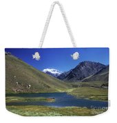 Mt Aconcagua And Laguna Horcones Weekender Tote Bag