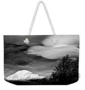 Mt Adams With Lenticular Cloud Weekender Tote Bag